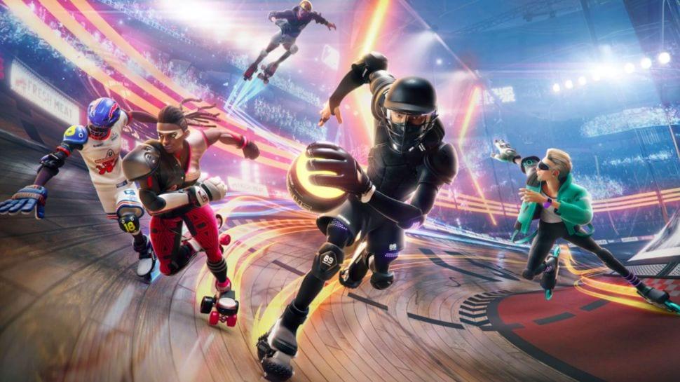 Roller Champions demo, Ubisoft, E3 2019