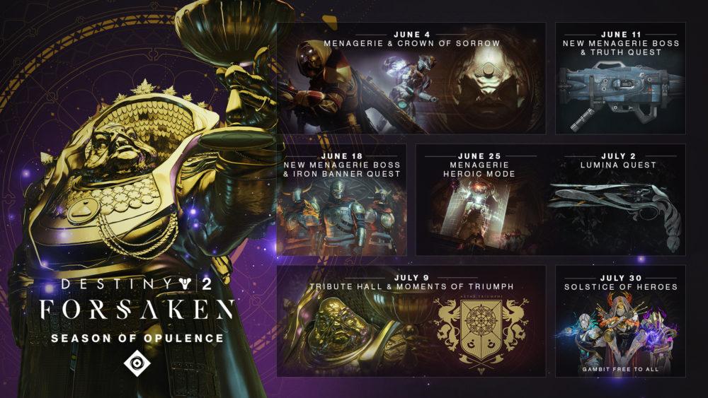 destiny 2, season of opulence