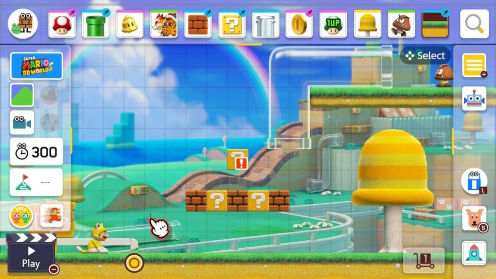 Super Mario Maker 2's Super Mario 3D World Style