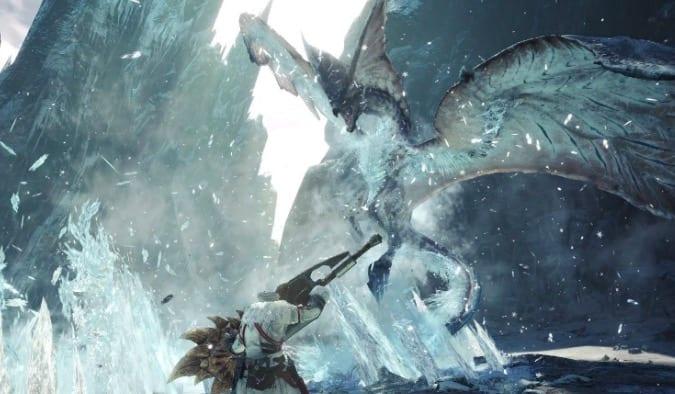 shrieking legiana, monster hunter world iceborne