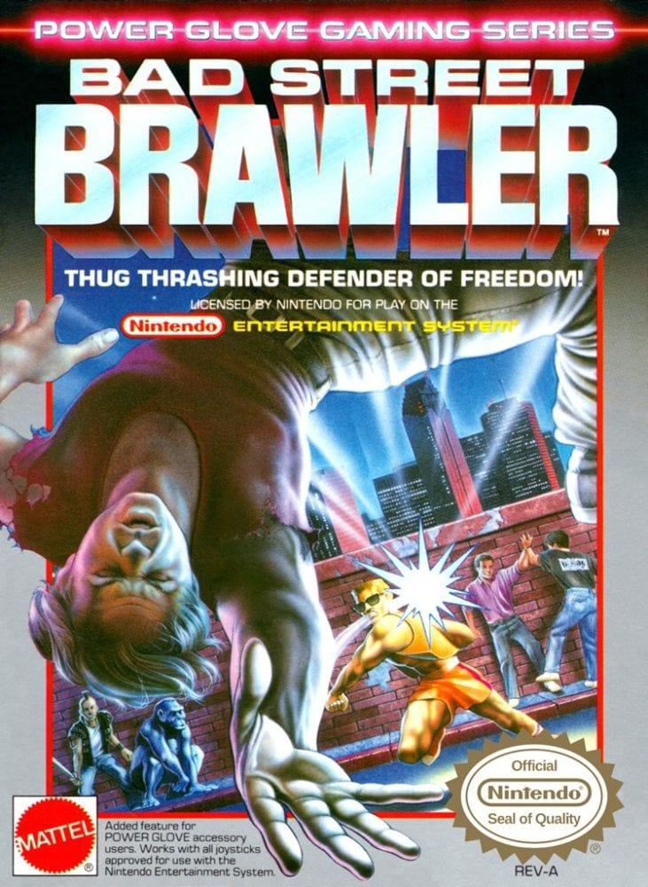 bad street brawler boxart