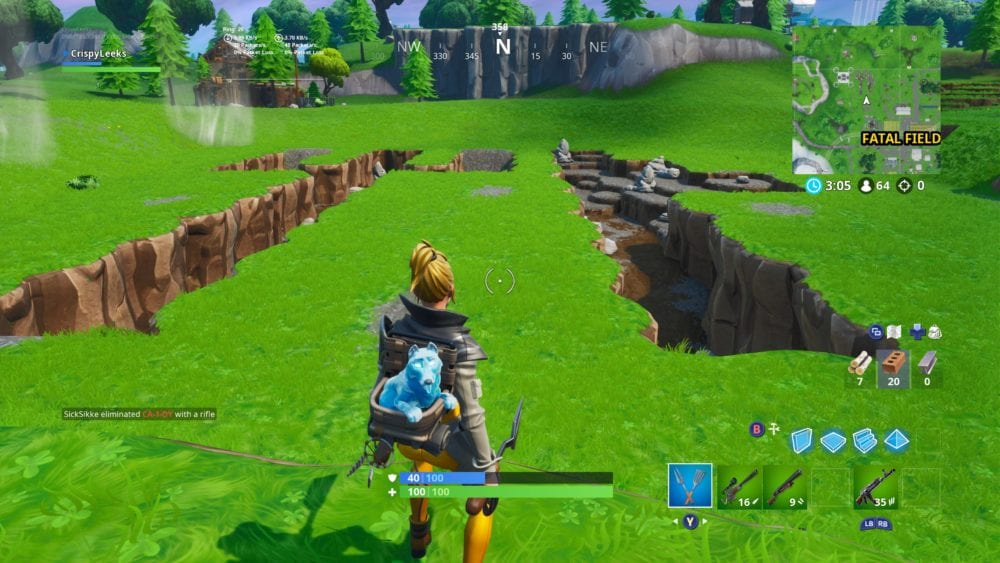 between a fork and a knife in fortnite