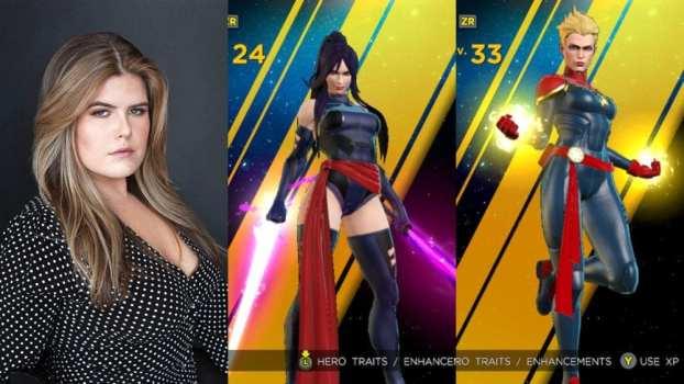 Erica Lindbeck - Captain Marvel/Psylocke