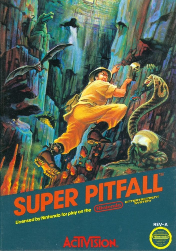 super pitfall box art