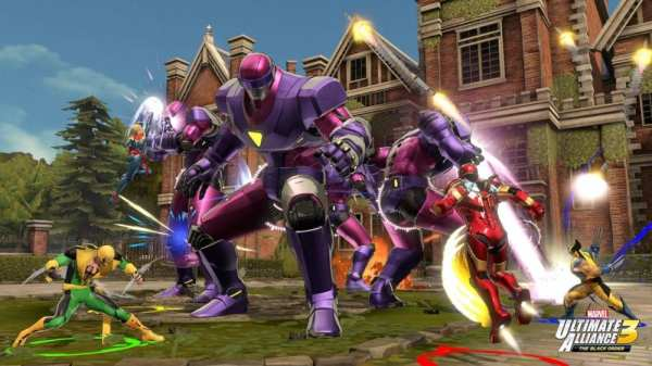 marvel ultimate alliance 3, the black order, review, is it good