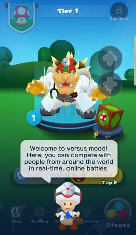 Versus mode Dr Mario