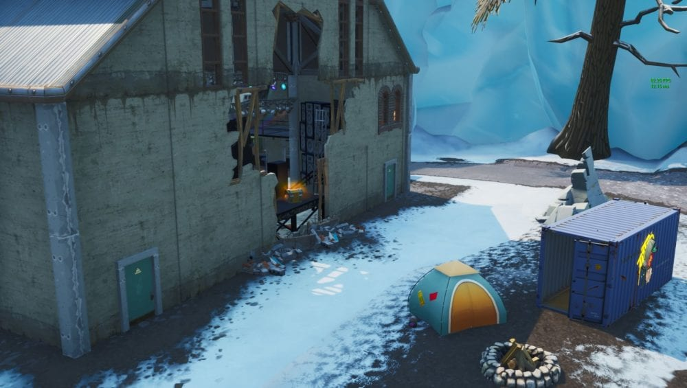 lost spraycans in fortnite