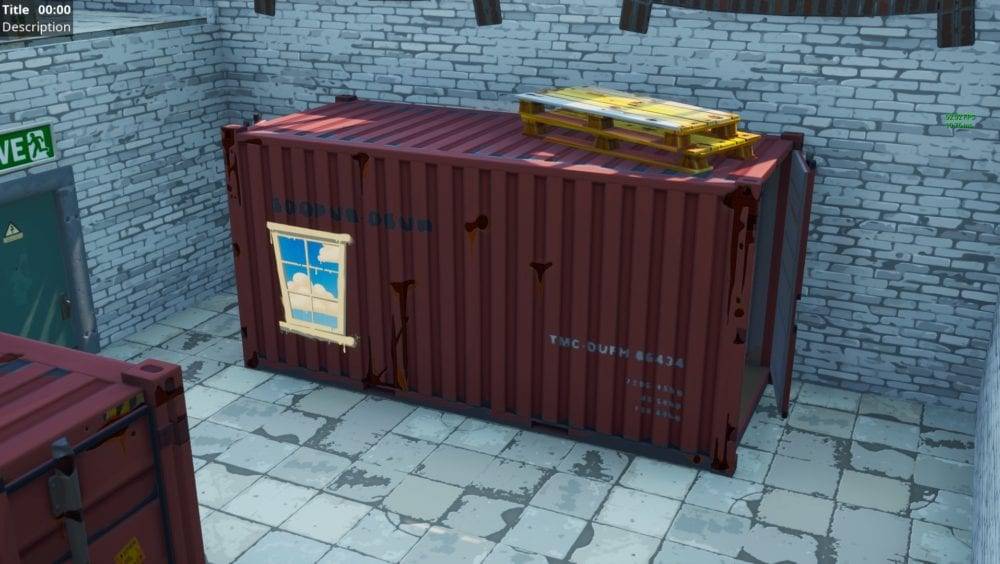 Fortnite containers with windows locations