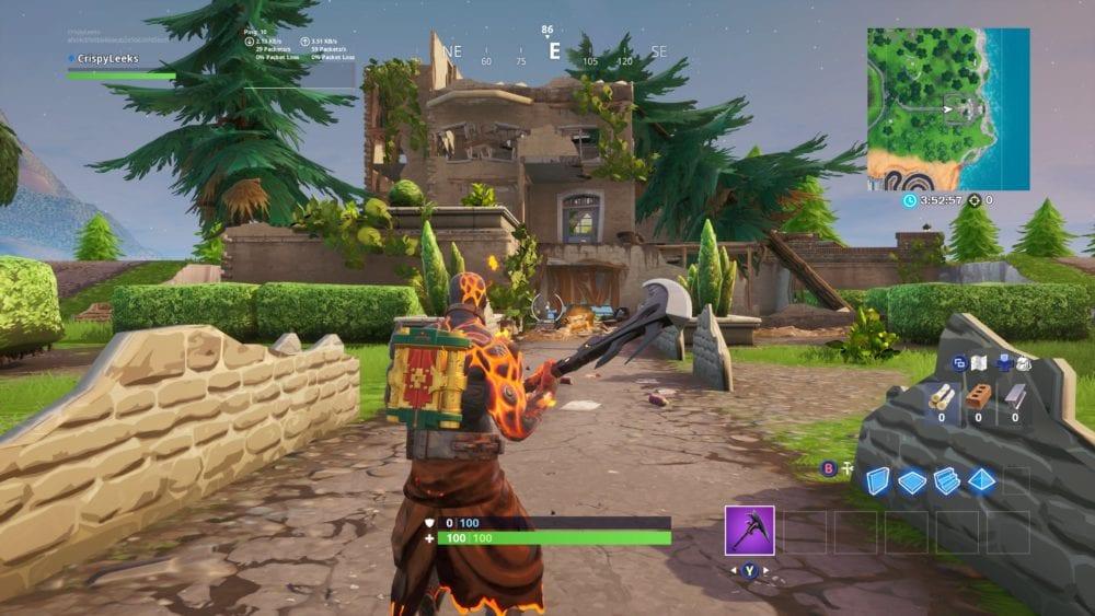 Fortnite hero mansion location