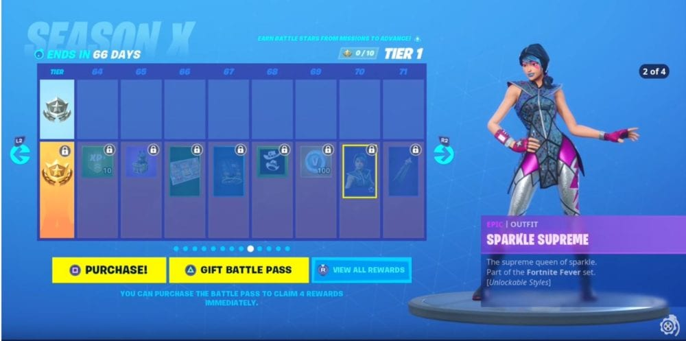 All Battle Pass Skins That Can Be Found In Fortnite Season X