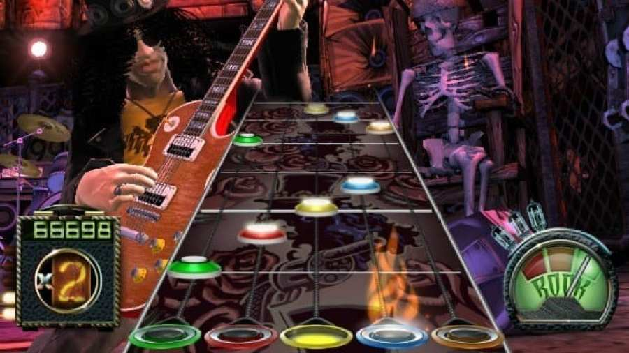 Guitar Hero Rock Band soundtrack playlist video games