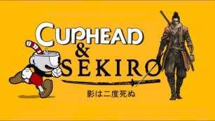 cuphead x sekiro video, crossover, video
