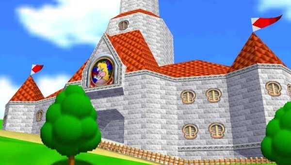 Mario 64 Hub World