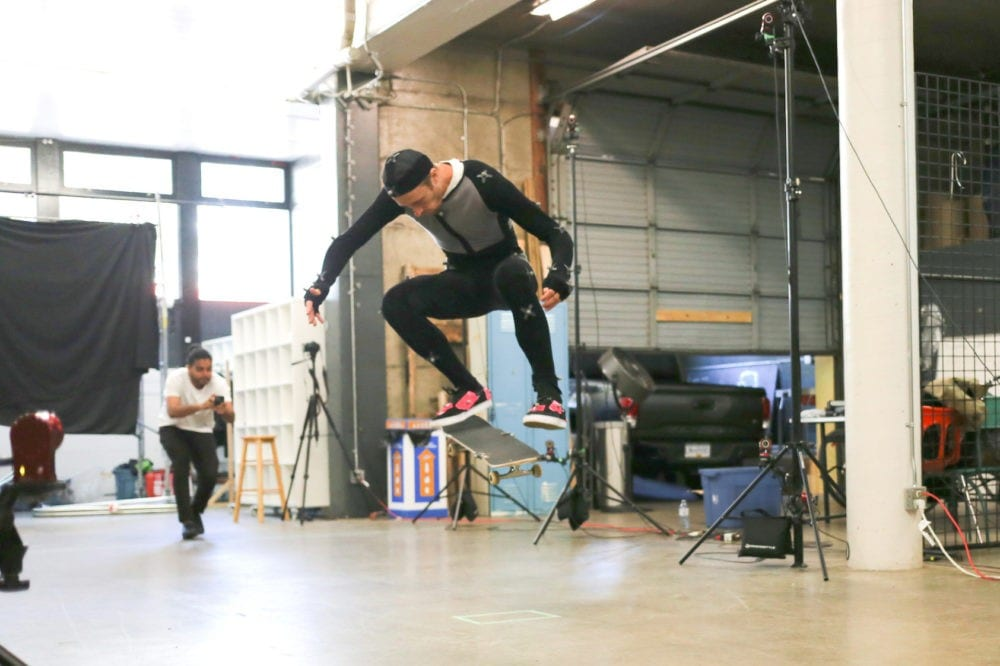 Skate XL Motion Capture