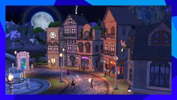 the sims 4, realm of magic