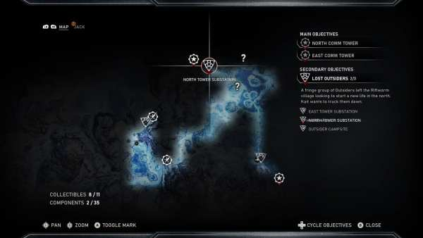 Gears 5 Lost Outsiders side mission
