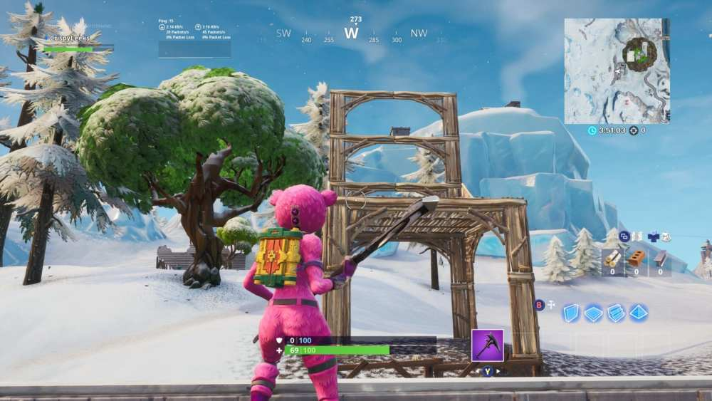 Fortnite Seat for Giants location