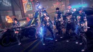 Combat Astral Chain Bayonetta Nier