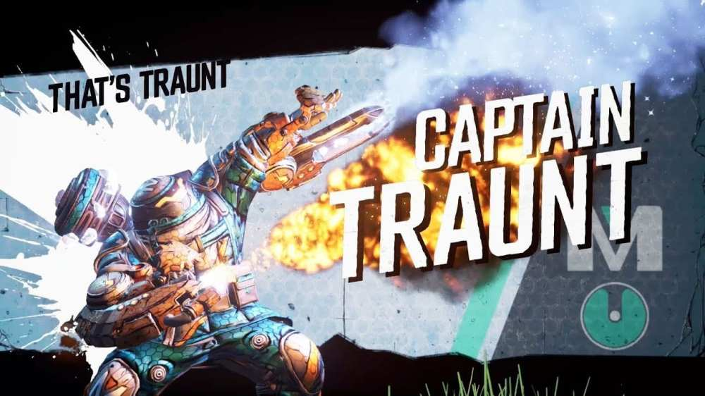 Borderlands 3 Captain Traunt