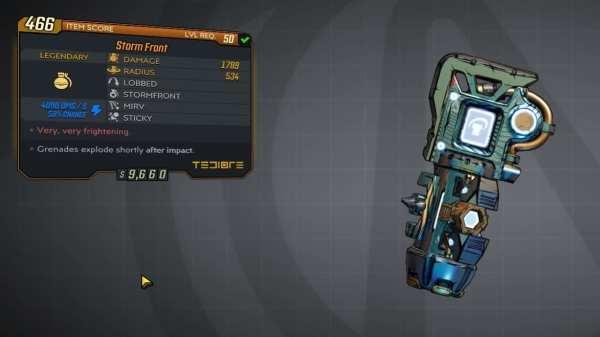 Borderlands 3, la mejor granada