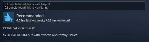 hilarious steam reviews