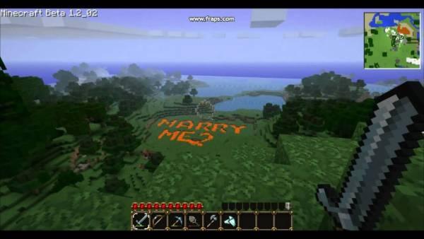 Minecraft marriage proposals