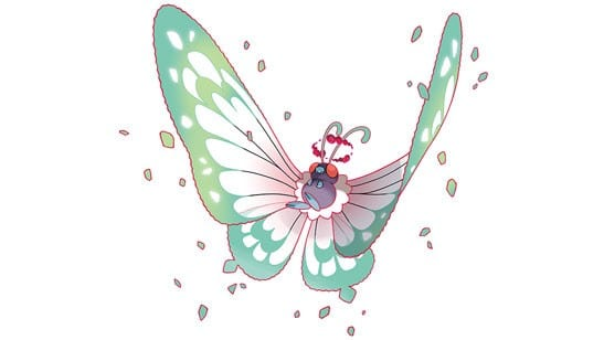 Pokemon Sword and Shield, butterfree