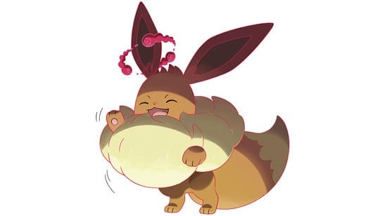 Gigantamax Eevee, pokemon sword and shield