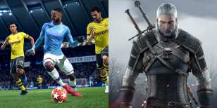 witcher 3, ukie, UK charts, sales, FIFA 20