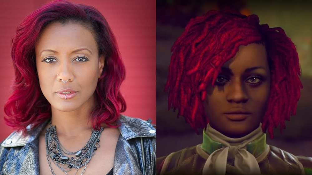 Nyoka, outer worlds, voice cast