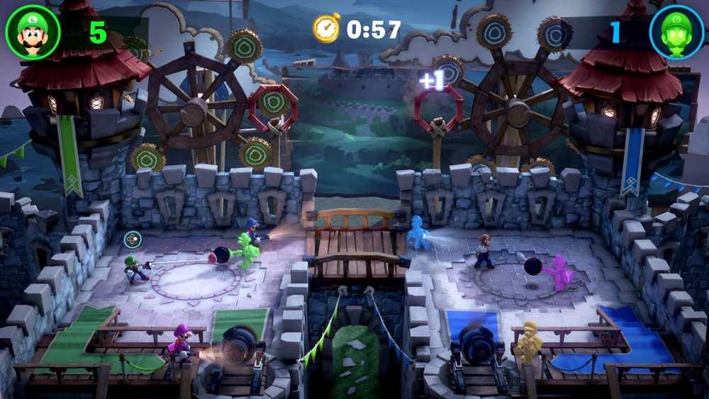 Luigi's Mansion 3, multiplayer modes