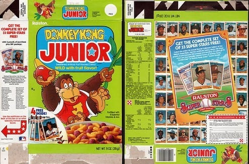 video game cereal