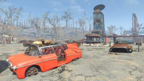 Fallout 4 mods September Wasteland Garage