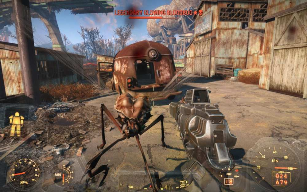 worst video game worlds to live in, fallout