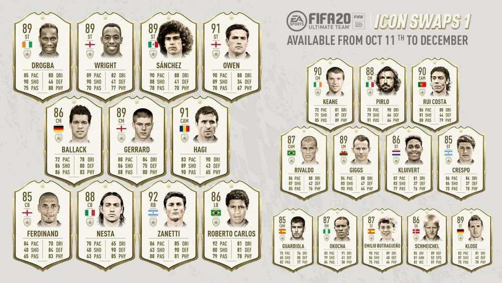 fifa 20 icon swaps 1 players