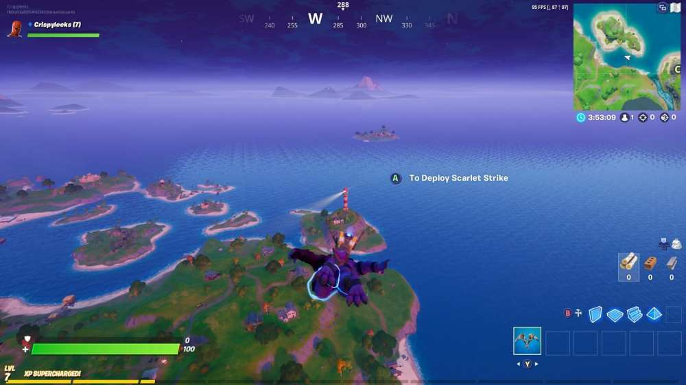 Fortnite lockie's lighthouse location