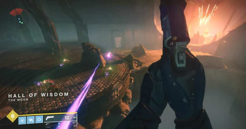 Destiny 2 Shadowkeep Essence of Brutality quest, Necromantic strand location