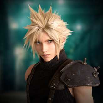 Final Fantasy VII Remake Cloud (2)