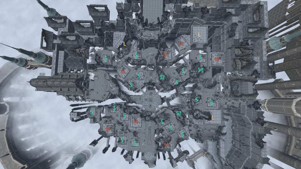 Ishgard Housing Map