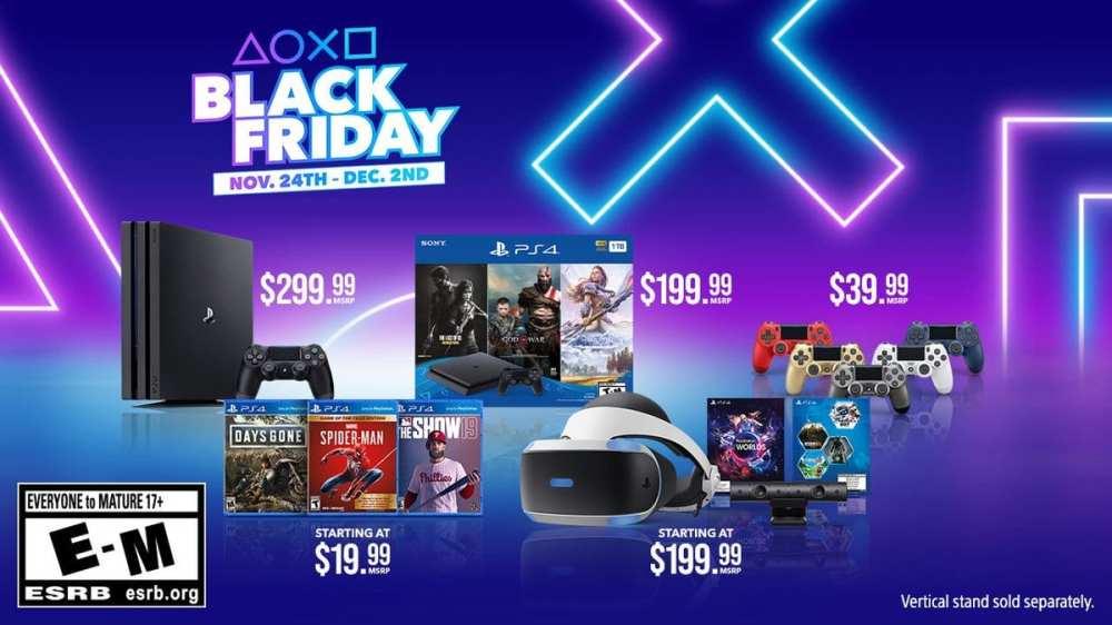 PlayStation Black Friday Deals 2019