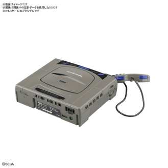PlayStation Saturn Model Kit Bandai (8)