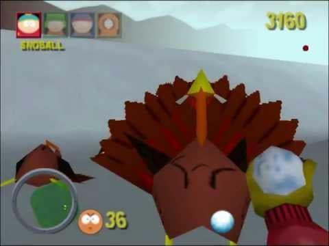 South Park Turkey Fight
