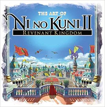 ni no kuni, revenant kingdom, art book, jrpg