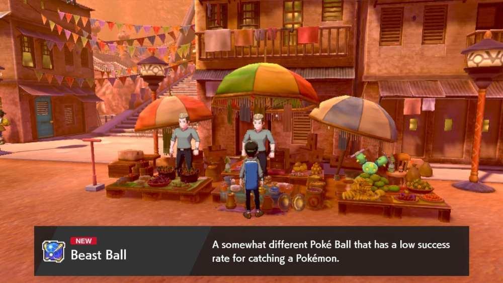 pokemon sword beast ball, pokemon shield beast ball