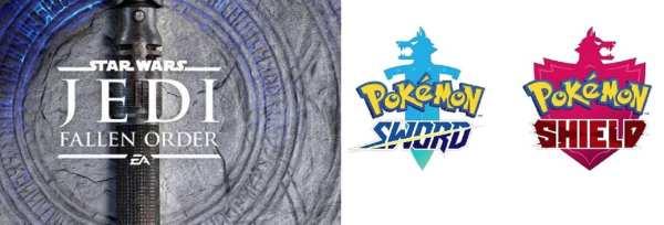 Pokemon Sword & Shield, star wars fallen order