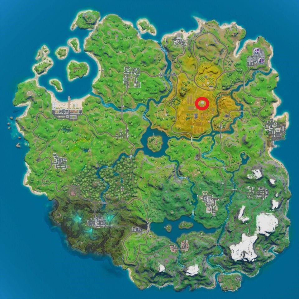 Fortnite hidden I location