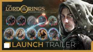 lord of the rings, adventure card game, trailer