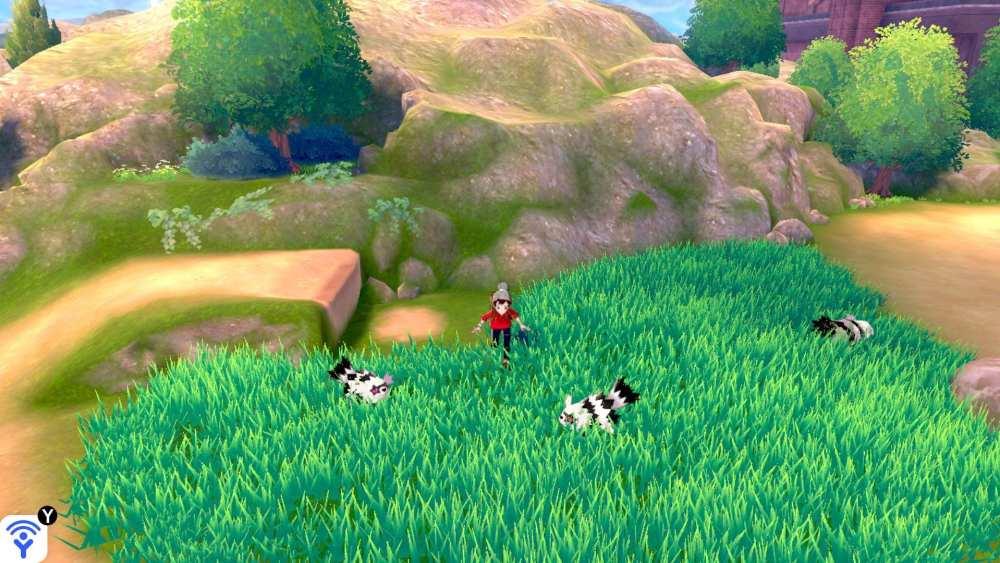 Pokemon sword and shield, random pokemon encounters