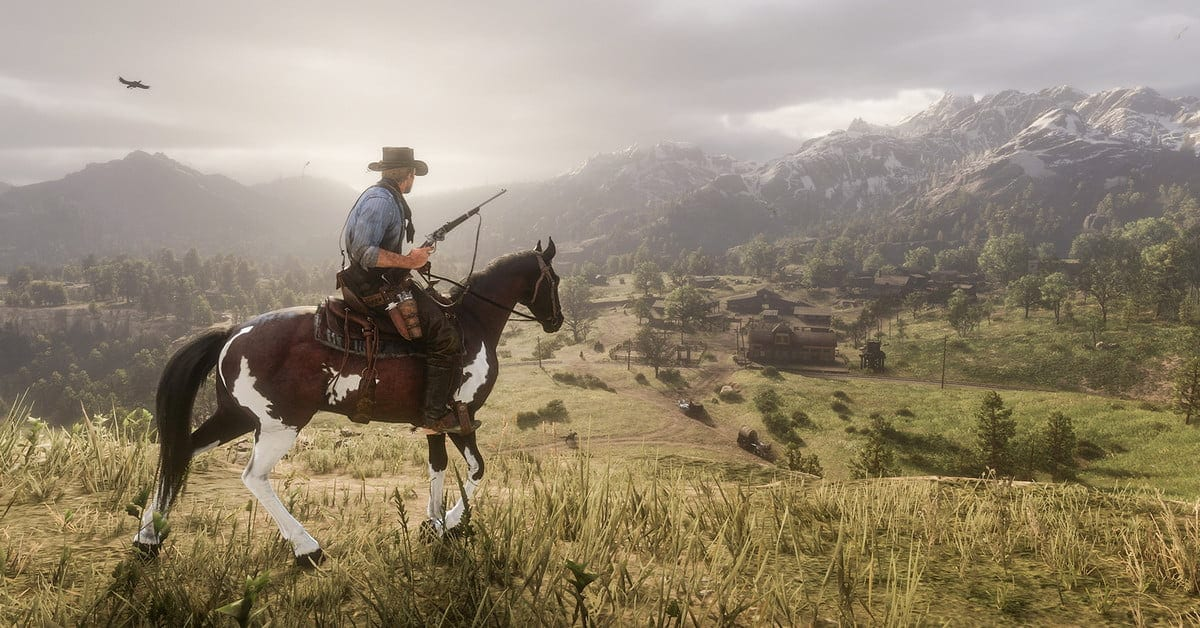 GTA V & Purple Useless Redemption 2 Subsequent-Gen Backward Compatibility Detailed by Rockstar 1
