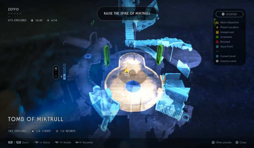 how to raise spire of miktrull in jedi fallen order